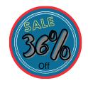 36% Off