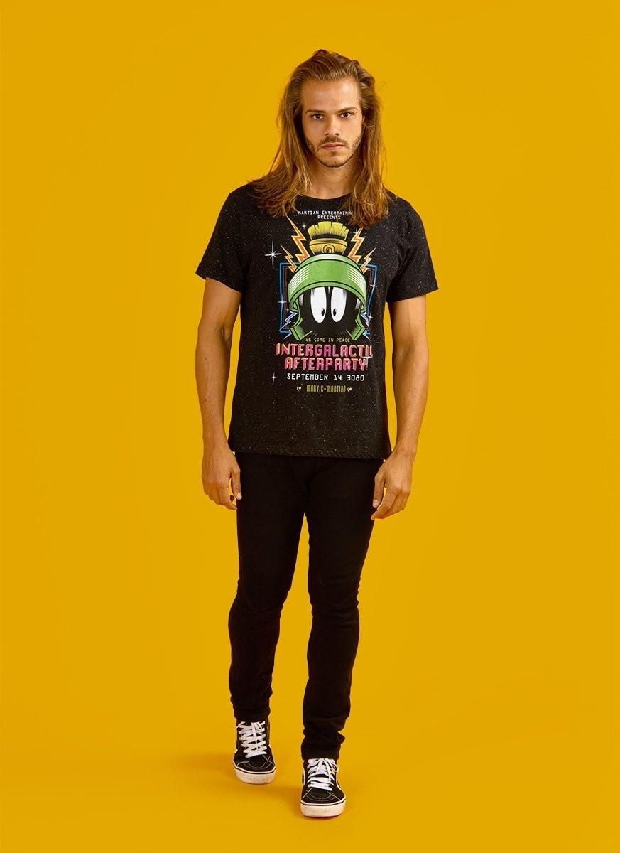 Camiseta Masculina Marvin Intergalactic