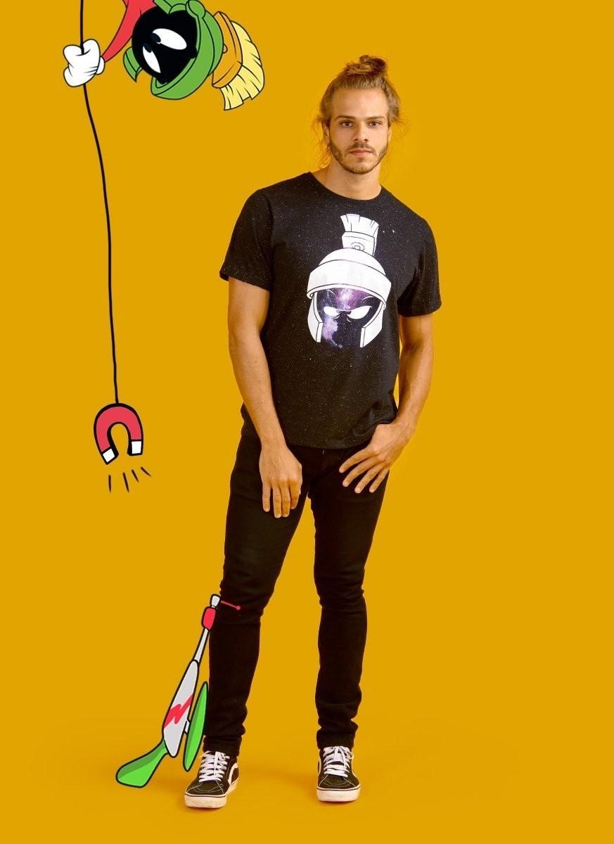 Camiseta Masculina Marvin Nebula