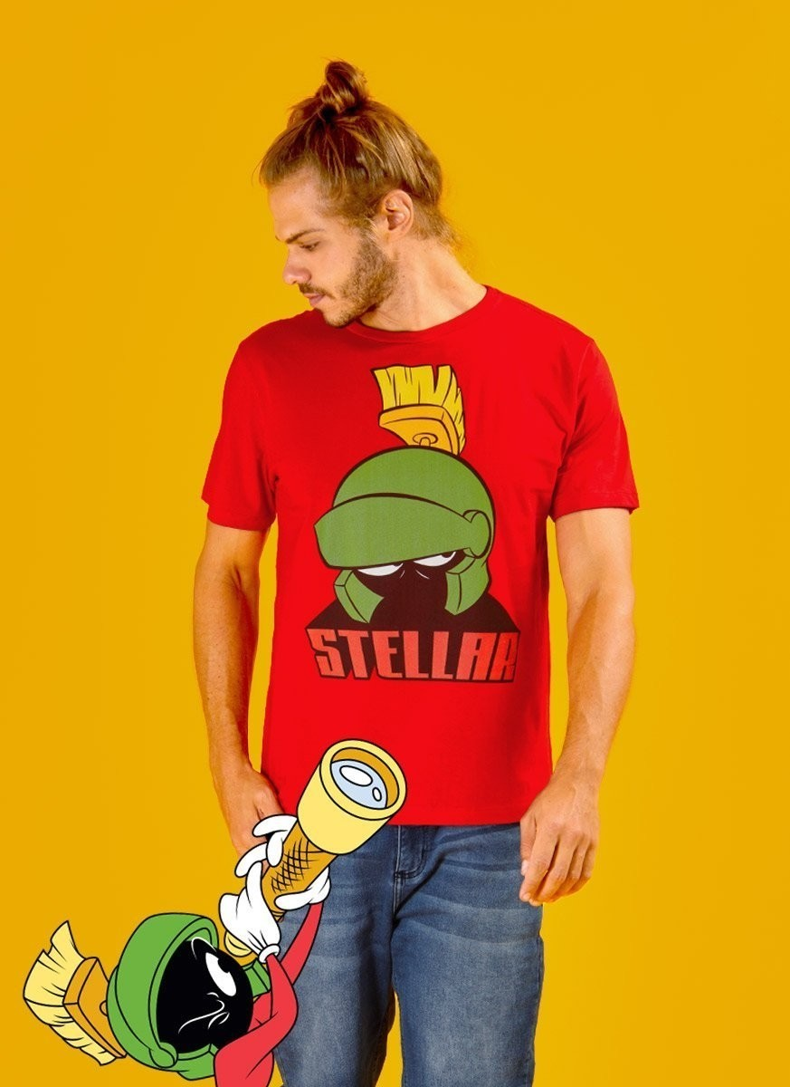 Camiseta Masculina Marvin Stellar