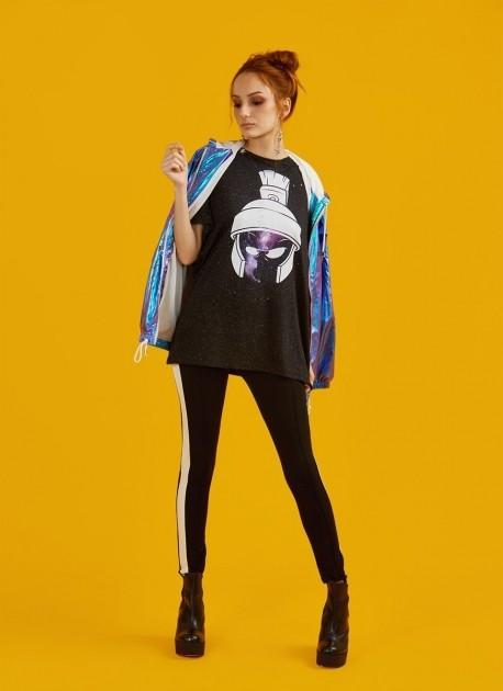 Camiseta Feminina Marvin Nebula