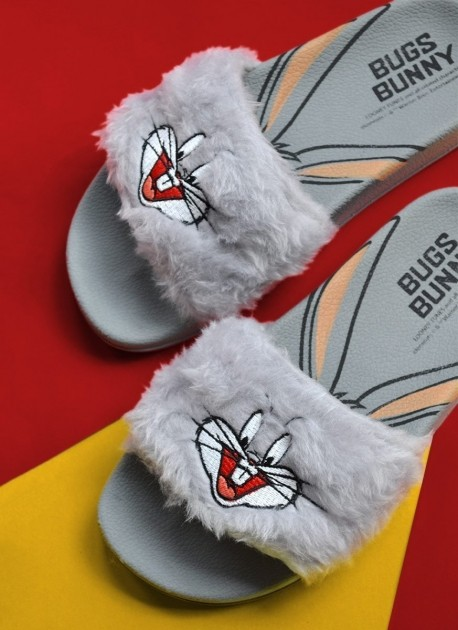 Chinelo Slide Looney Tunes Pernalonga