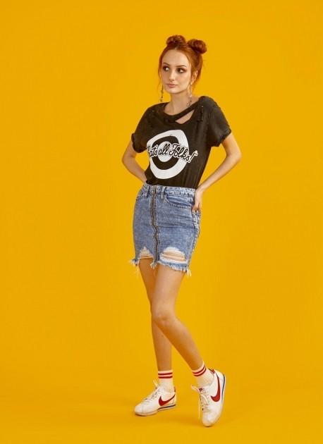 Camiseta Feminina Looney Tunes That's All Folks Vintage