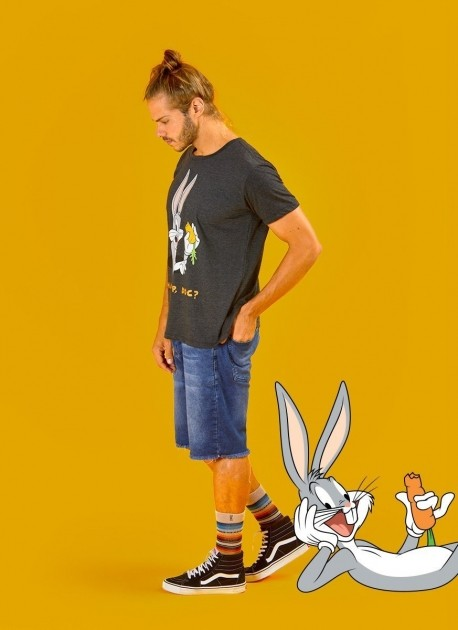 Camiseta Premium Masculina Pernalonga What's Up, Doc?