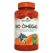 Bio Ômegas - Óleo de Peixe, Linhaça e Borragem - 120 Cápsulas - katiguá