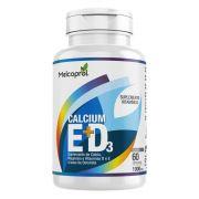 Calcium E+D3 - 60 Cáps. - 1000mg - Melcoprol