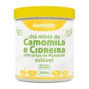 Chá Misto de Camomila e Cidreira com Polpa de Maracujá - Solúvel - 200g - Apisnutri