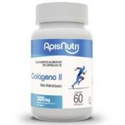 Colágeno Tipo II - Não Hidrolisado - 60 Cápsulas - Apisnutri