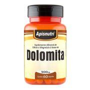 Dolomita - 60 Cáps. - 500mg - Apisnutri