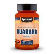 Guaraná - 60 Cáps. - 520mg - Apisnutri