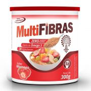Multi Fibras - Sabor Morango - 300g - Apisnutri