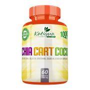 Óleo de Chia + Cártamo + Coco - 60 Cáps. - 1000mg - Katigua