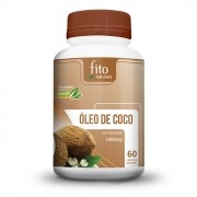 Óleo de Coco - 60 cáps. - 1000mg - Fito Naturais