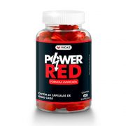 Power Red - 60 Cápsulas - VICAZ