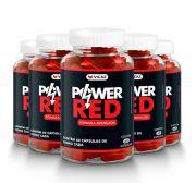 Power Red - Promoção 5 Unidades de 60 cápsulas - VICAZ