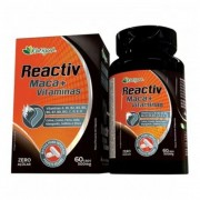 Maca e Vitaminas - Reactiv - 60 Cápsulas - Katiguá