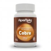 Suplemento Alimentar de Cobre - 60 Cápsulas - Apisnutri