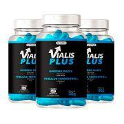 Vialis Plus - Promoção 3 Unidades - VICAZ