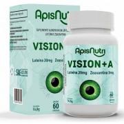 Vision A - Zeaxantina e Luteína - 60 Cápsulas - Apisnutri