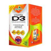 Vitamina D3 - 120 cápsulas - Katiguá