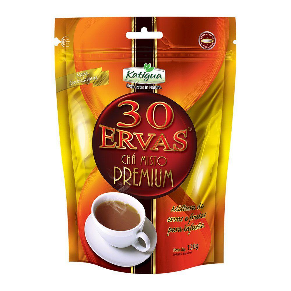 30 Ervas Chá Misto Premium - 120g - Katigua