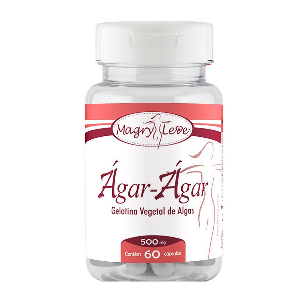 Agar-Agar - 60 Cápsulas - Apisnutri