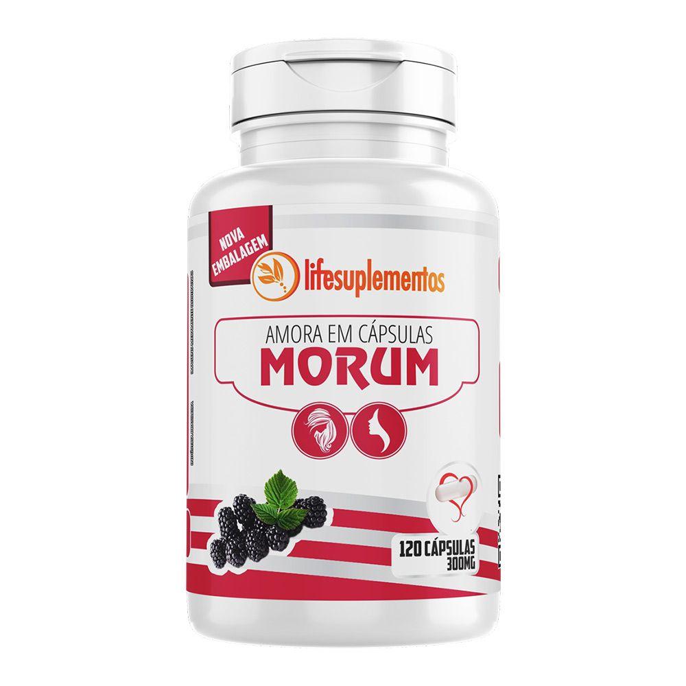 Amora - Morum - 120 Cáps. - 300mg - Melcoprol