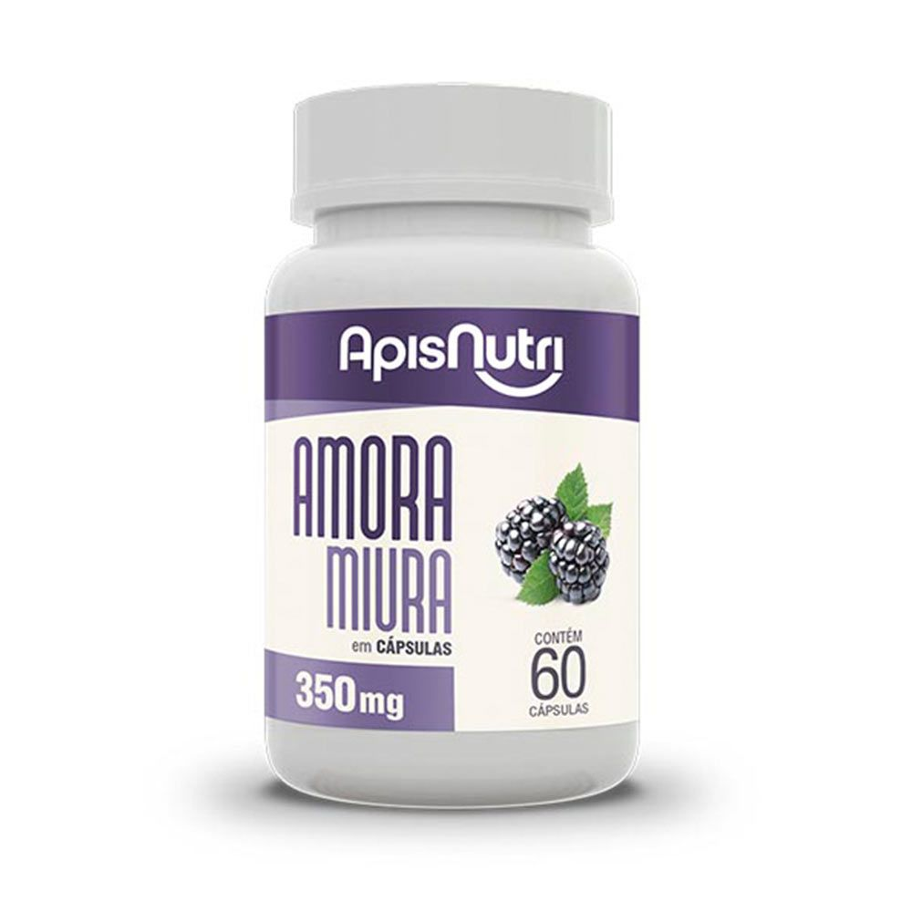 Amora Miúra - 60 Cápsulas - Apisnutri