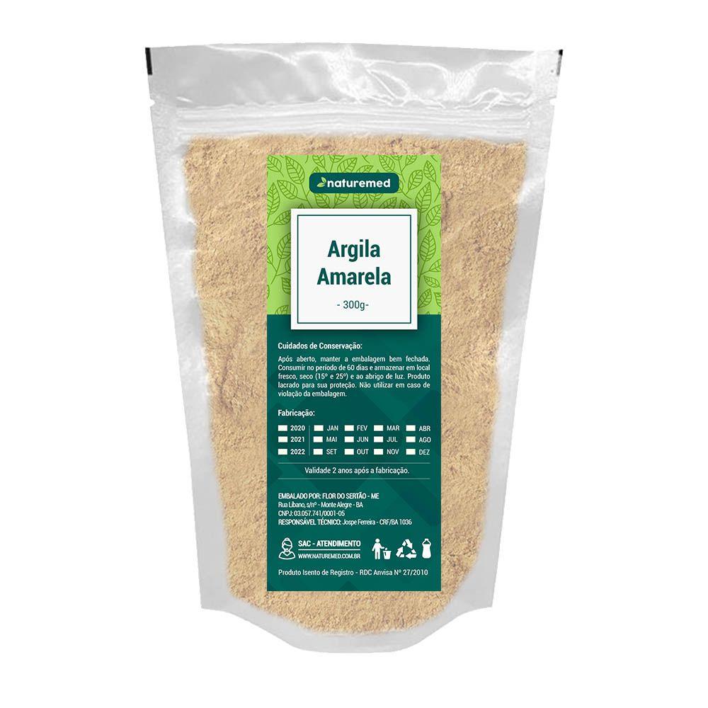 Argila Amarela - 300g - Naturemed