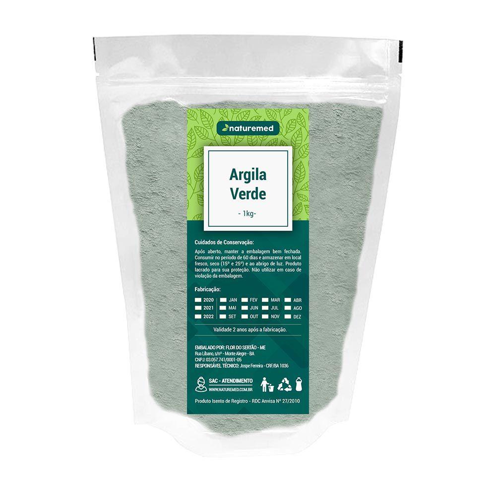 Argila Verde - 1Kg - Naturemed