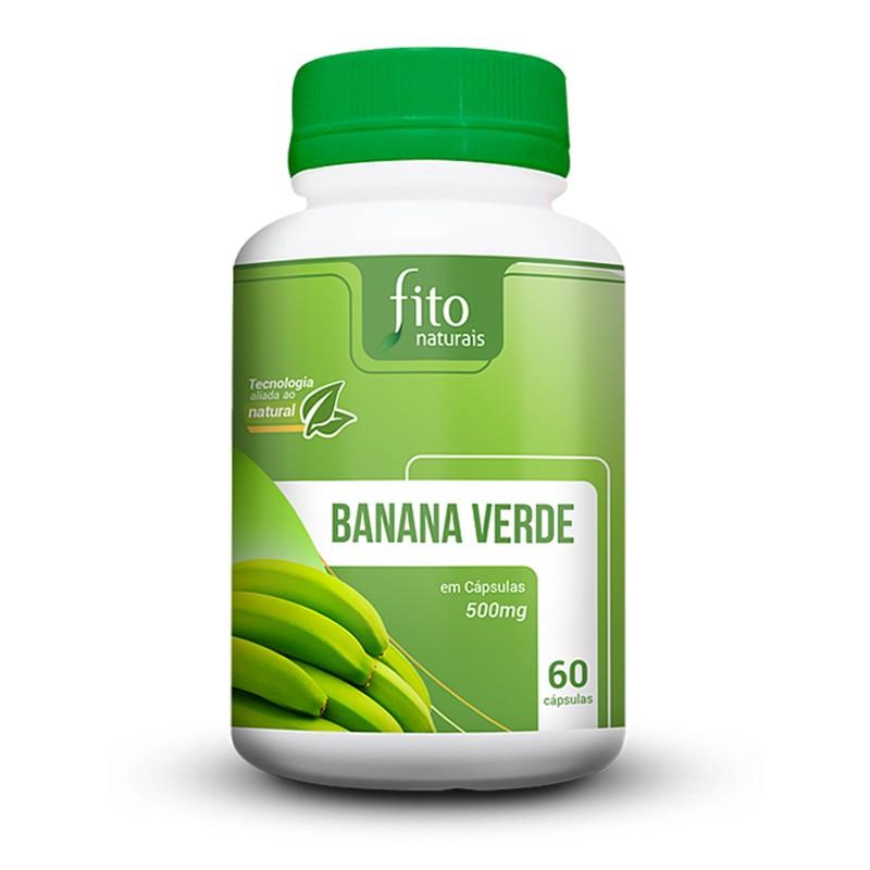 Banana Verde - 60 Cápsulas - Fito Naturais