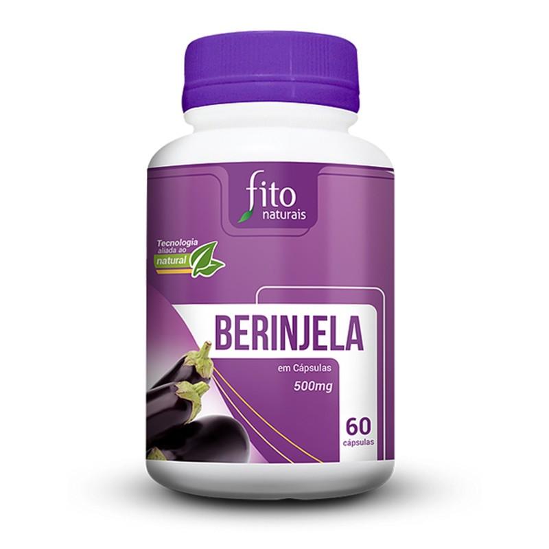 Berinjela - 60 Cápsulas - Fito Naturais