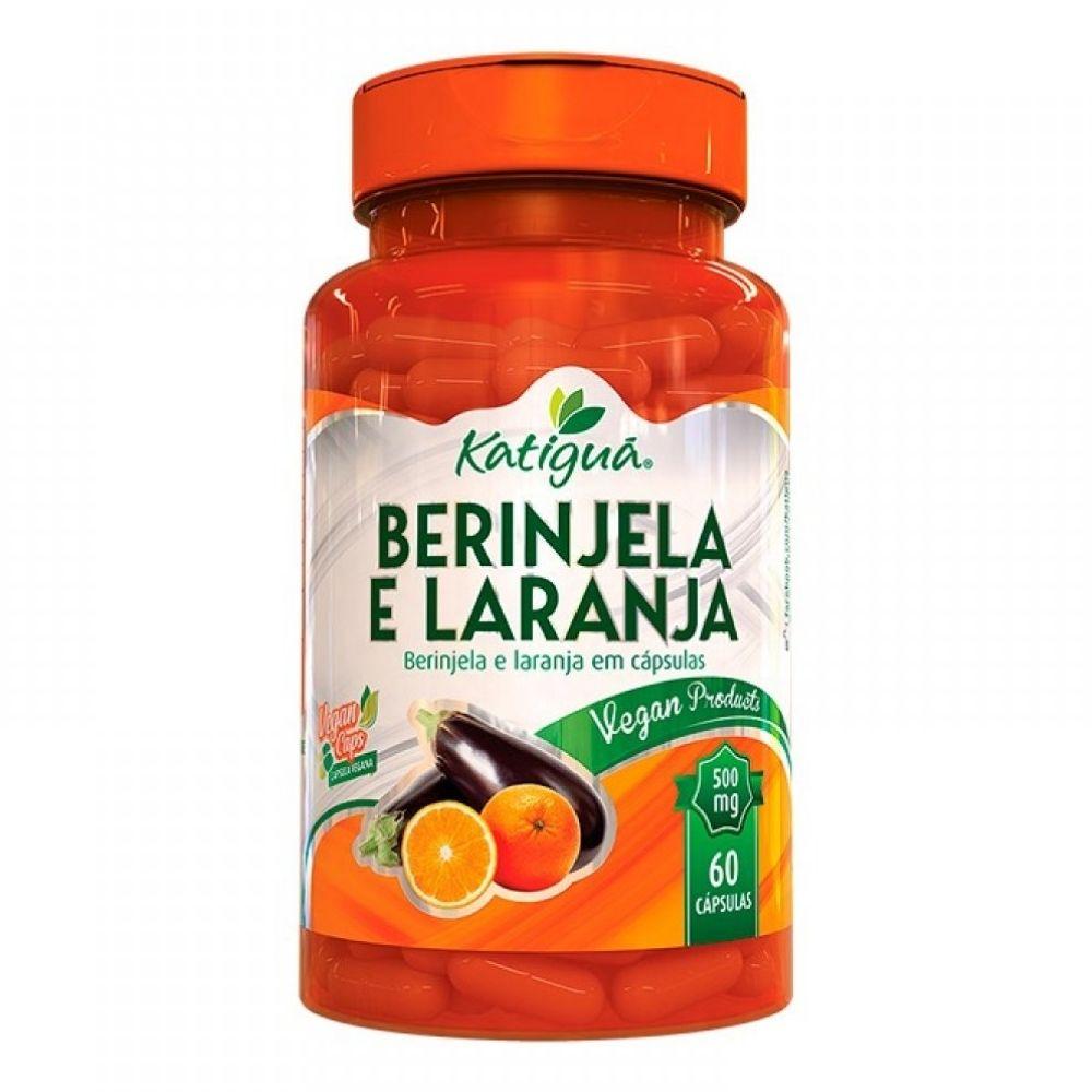 Berinjela e Laranja - 60 Cápsulas  - Katiguá
