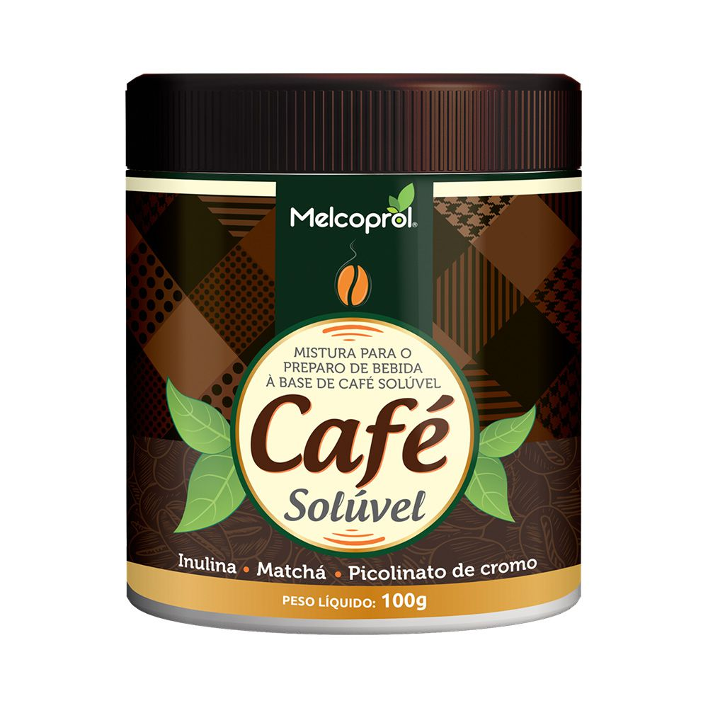 Café Solúvel - 100g - Melcoprol
