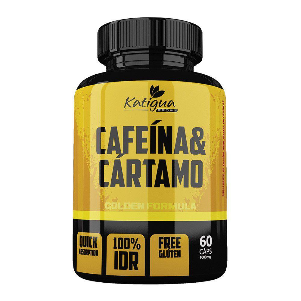 Cafeína e Cártamo - 60 Cáps. - 1000mg - Katigua
