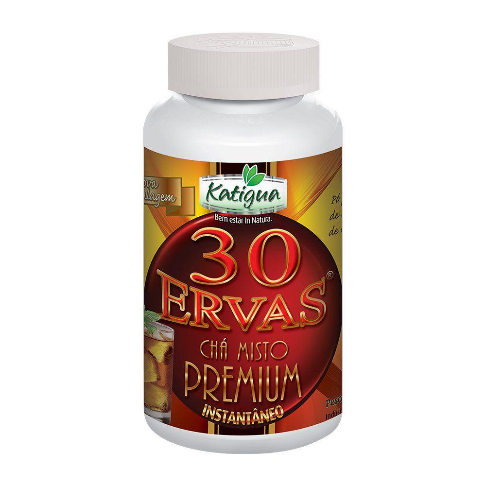 Chá 30 Ervas Premium - Instantâneo - 140g - Katigua