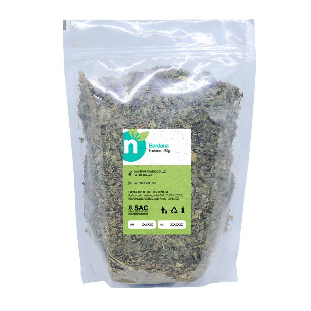 Chá de Bardana - 150g - Naturemed