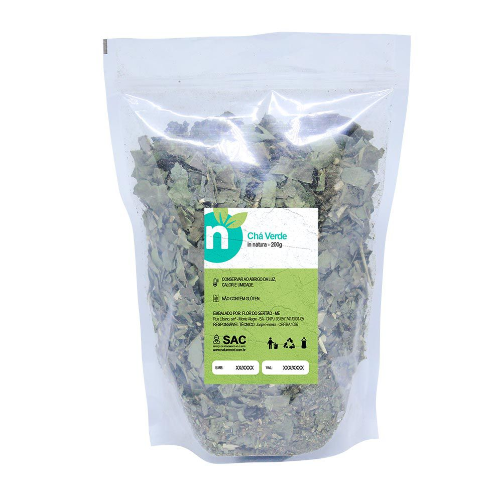 Chá Verde - 200g - Naturemed