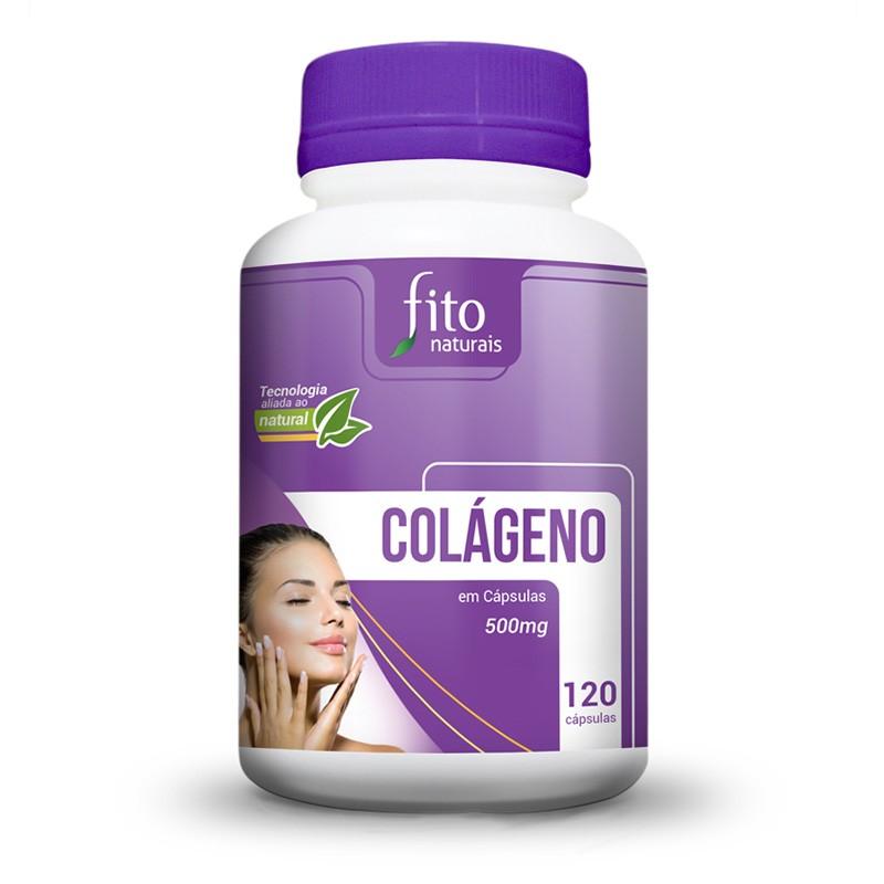Colágeno - 120 Cáps. - 500mg - Fito Naturais