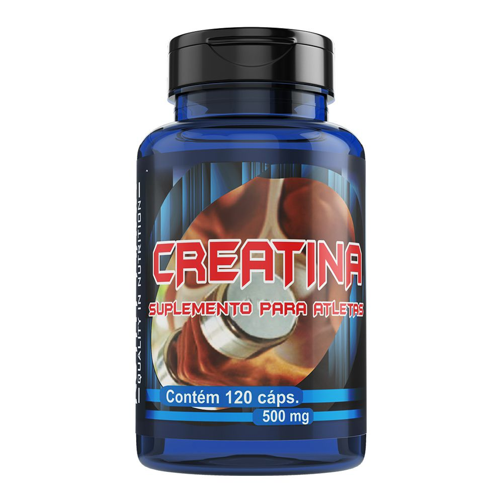 Creatina - 120 Cáps. - 500mg - Melcoprol