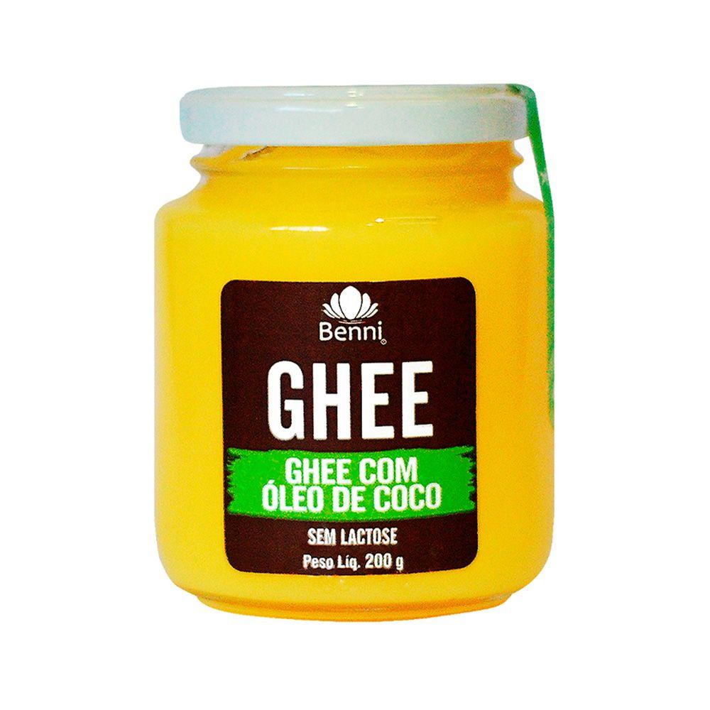 Manteiga GHEE com Óleo de Coco - 200g - Benni
