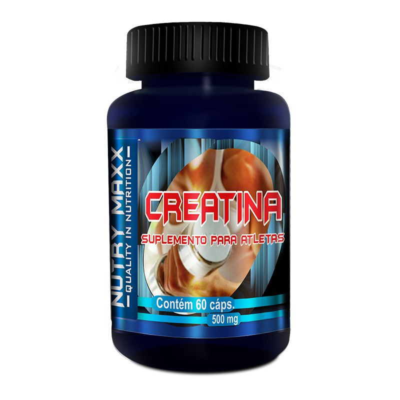Creatina - 60 cáps. - 500mg - Melcoprol