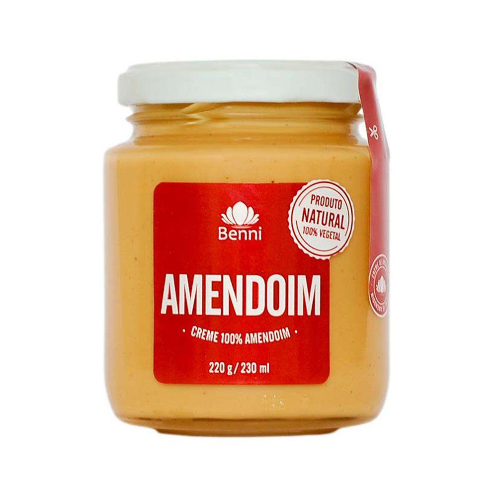 Creme de Amendoim 220g - Benni