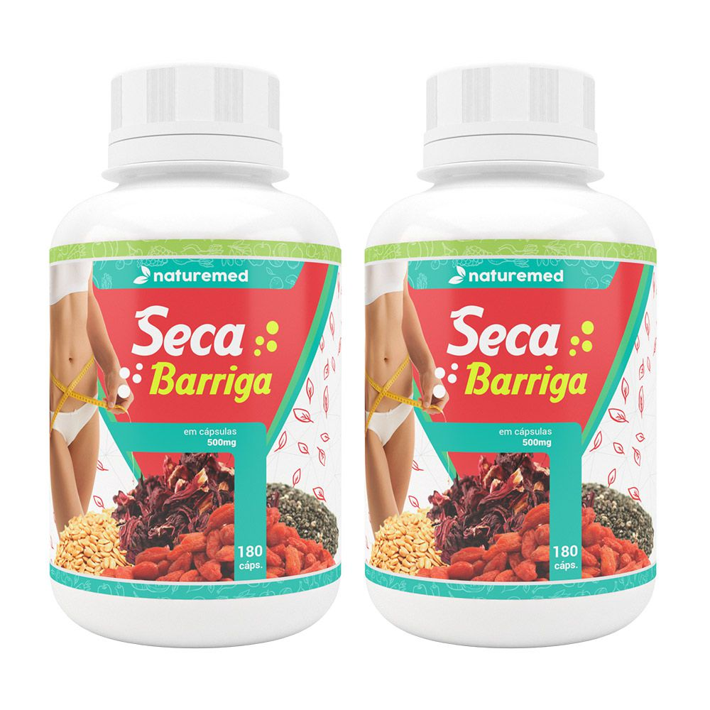 Duo Seca Barriga - 180 cáps - 500mg