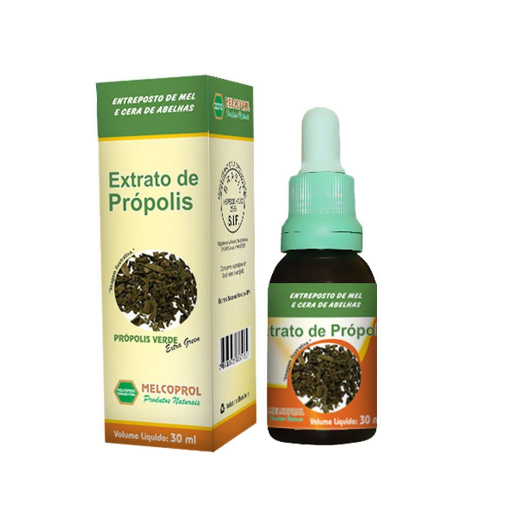 Extrato de Própolis - Própolis Verde - 30ml - Melcoprol