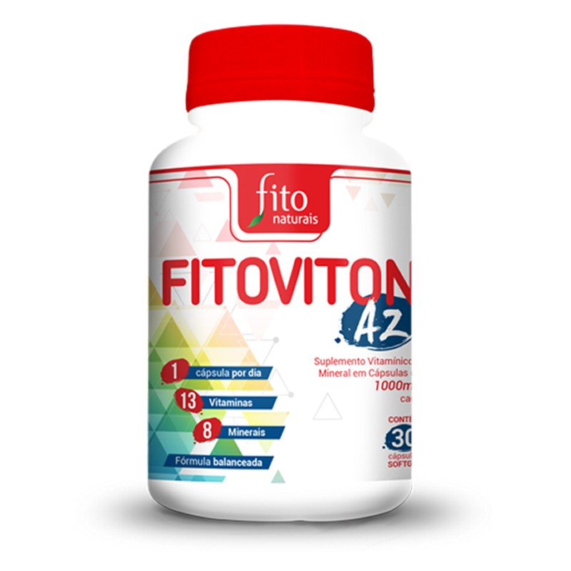 Fitoviton AZ  - 60 Cáps. - 1000mg - Fito Naturais