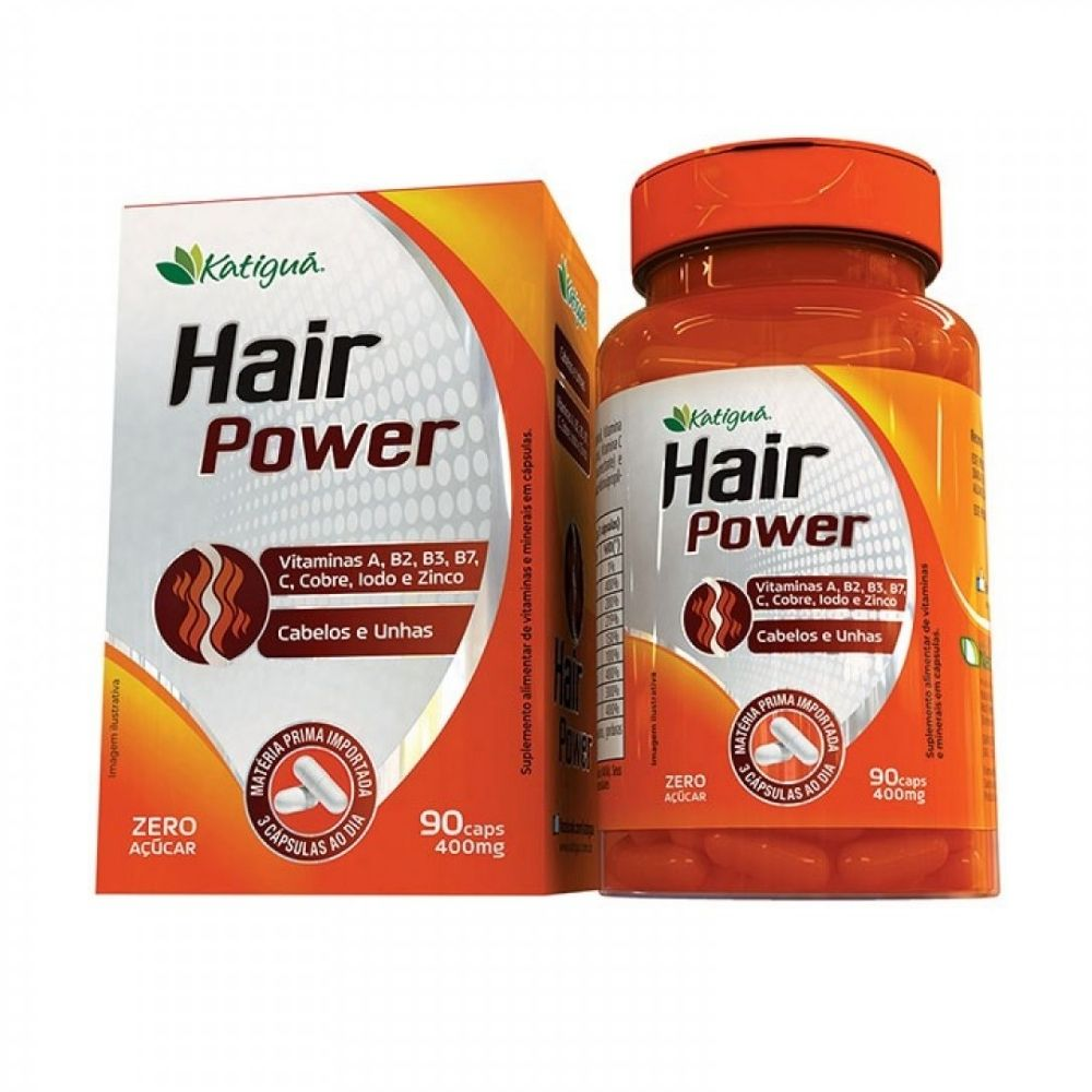 Hair Power - 90 Cápsulas - Katiguá