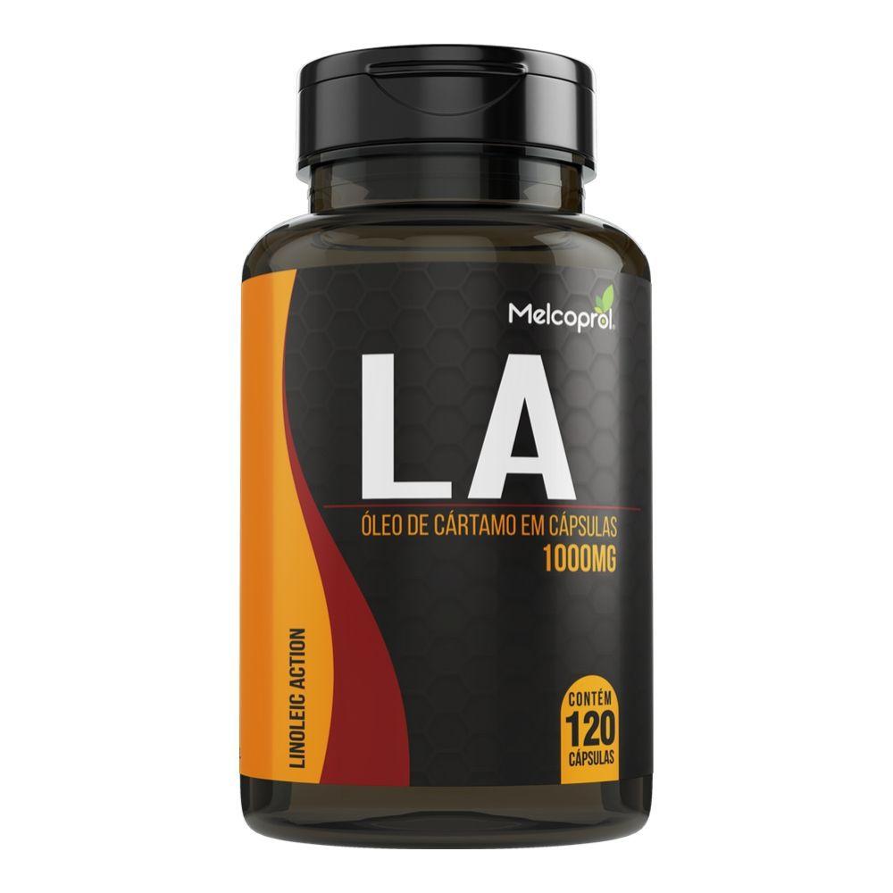 LA - Óleo de Cártamo - 120 Cápsulas - Melcoprol