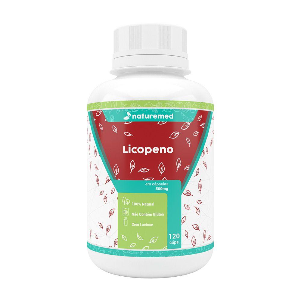 Licopeno - 120 Cápsulas - Naturemed