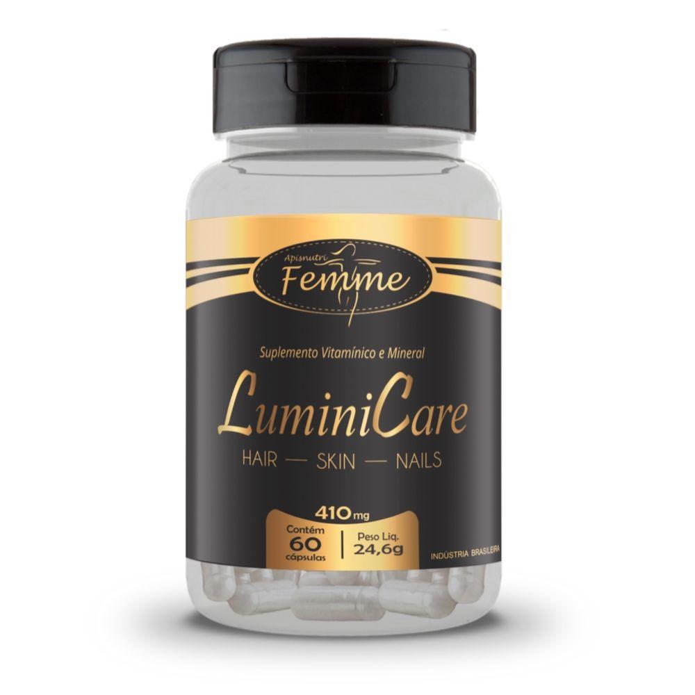Lumini Care - 60 Cápsulas - Apisnutri